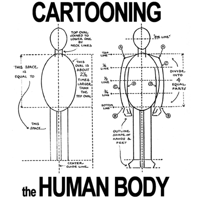 Figure Drawing : How to Draw Cartoon Figures & Bodies