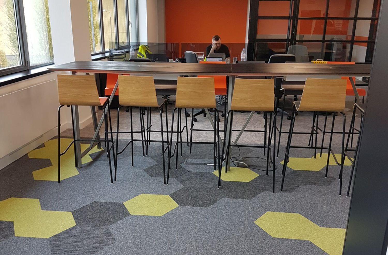 The Hexxtile And Freedom Carpet Tile Range In 2020 Carpet Tiles Vinyl Flooring Carpet