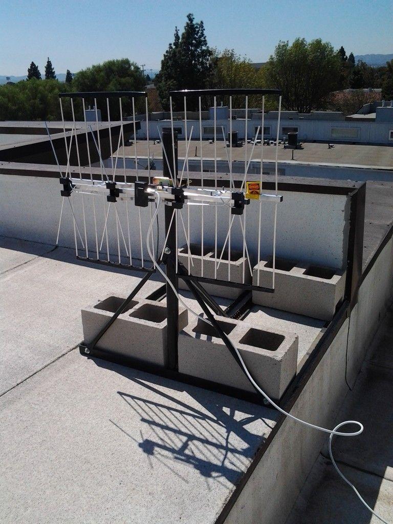 Roof Mounted Hd Tv Antenna Diy Tv Antenna Tv Antenna Digital Hdtv Antenna