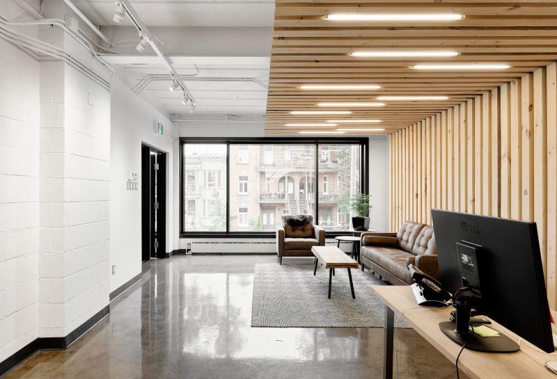 Rénovation des bureaux de l agence masse agence créative de