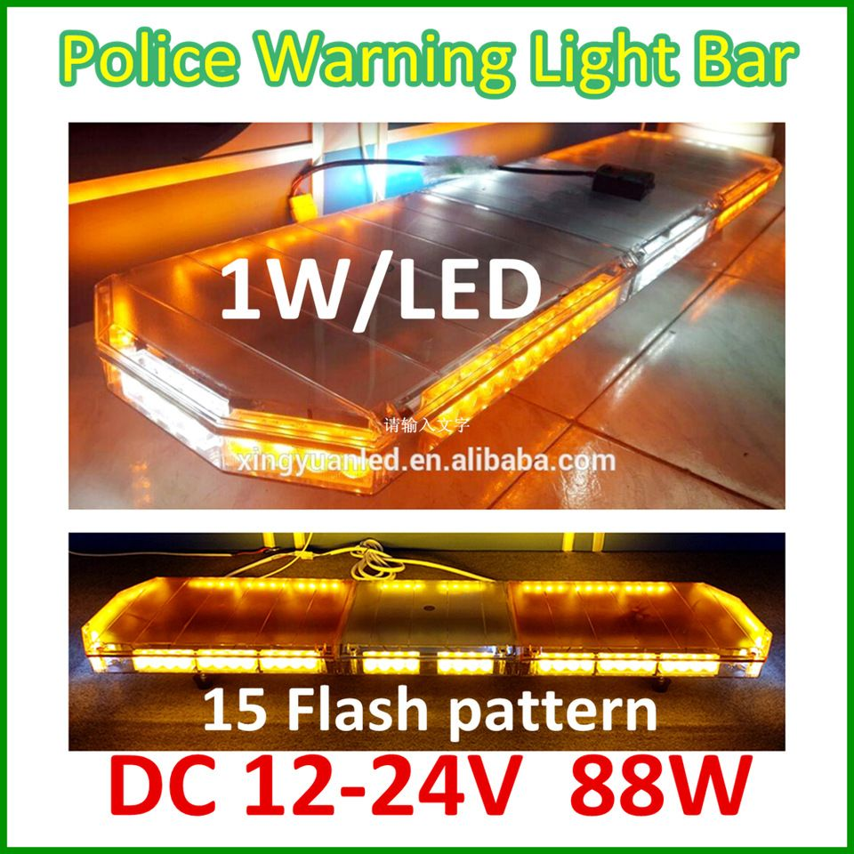 12v Amber Flash Led Light Bars For Ambulance Car Used Emergency Light Bar Emergency Lighting Bar Lighting Led Light Bars