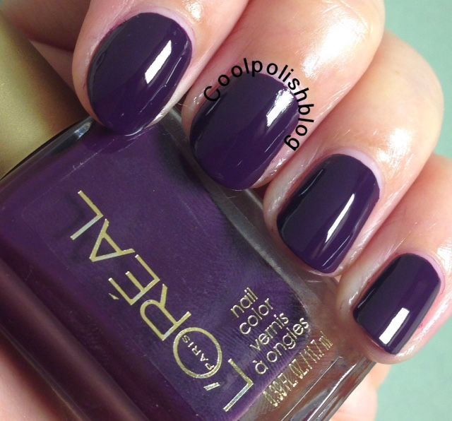 New L\'Oreal Chateau Royale By Coloure Riche | Cool Polish in Pinot ...