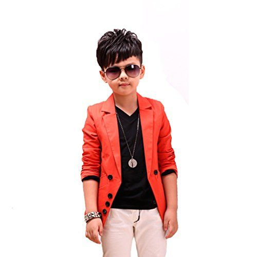 f78443ca1 GetUBacK Boys  Fashion Blazers Casual Jackets C189  boys blazers ...