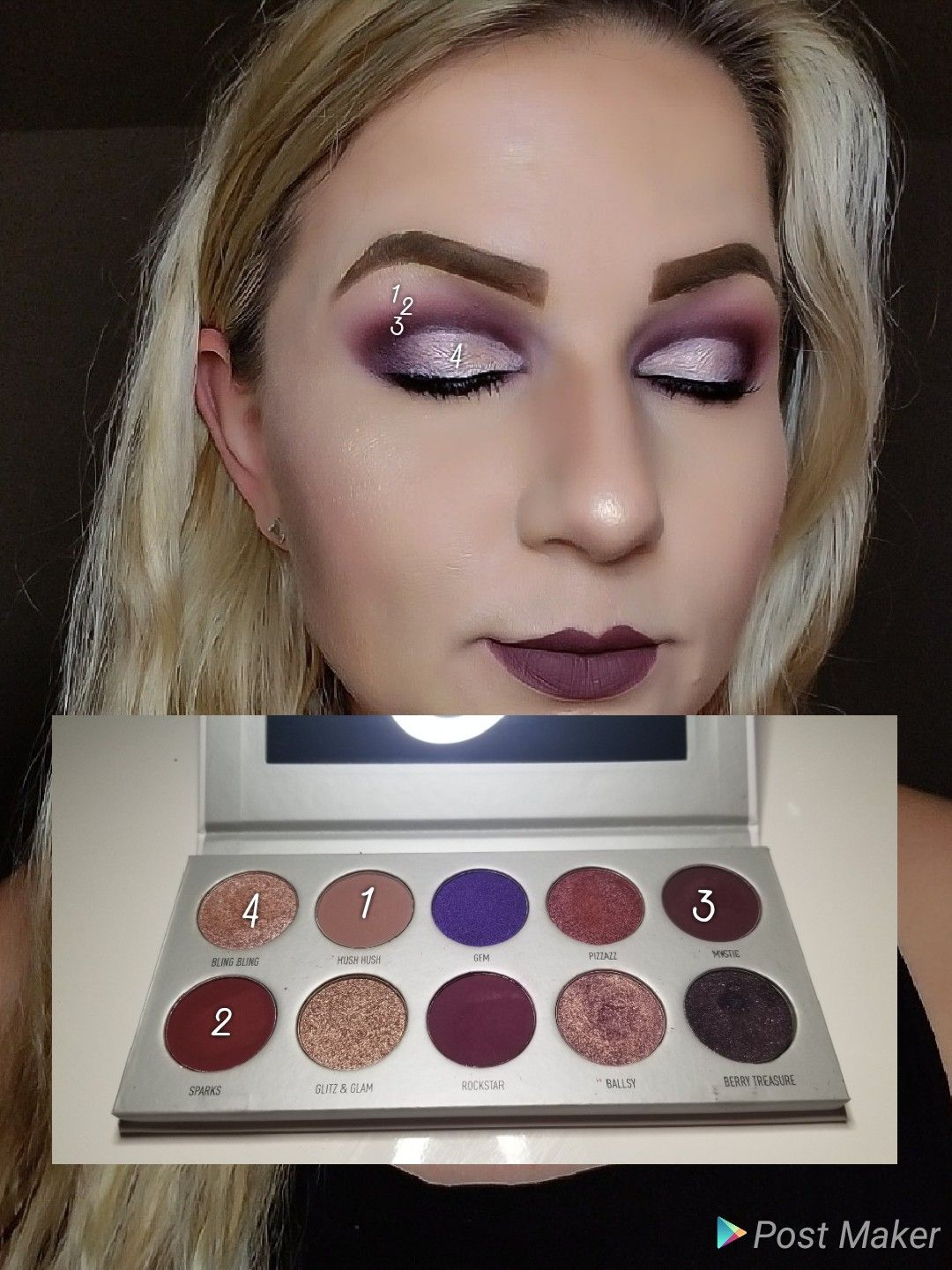 79bfdad3a7c Jaclyns Vault Bling Boss Palette | Makeup By Numbers in 2019 ...