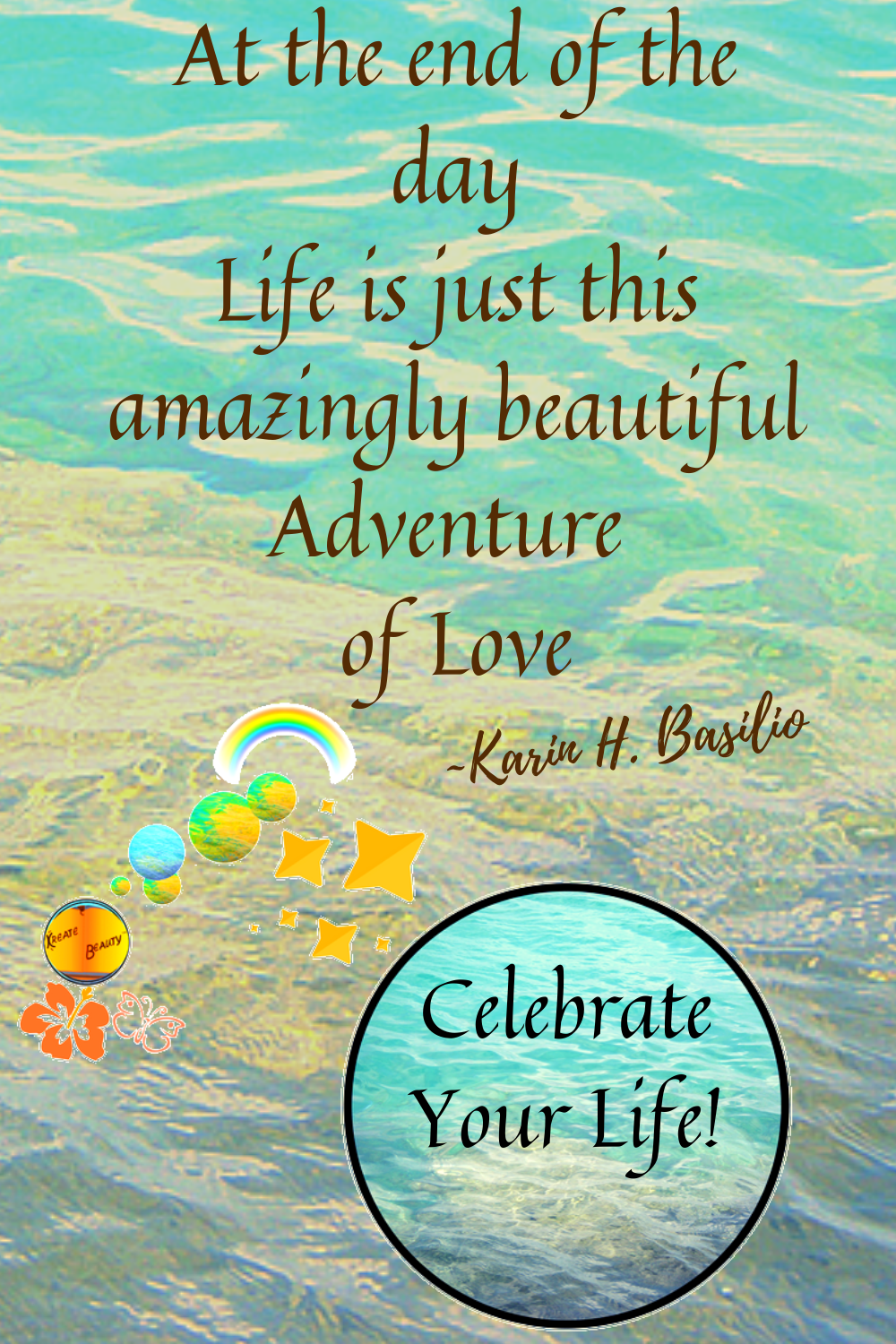 May this quote inspire you to celebrate the beauty of your life even more. Celebrate the magic of life. Keep moving within the vision of your own life. Design the life that you love xoxo #thebeautyoflifequotes, #lifeisanadventure, #lifeislovequotes