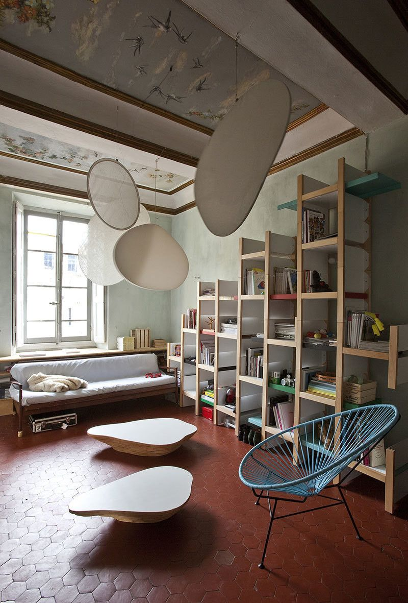Furniture Designer Stephanie Marin S Eclectic Apartment In Nice