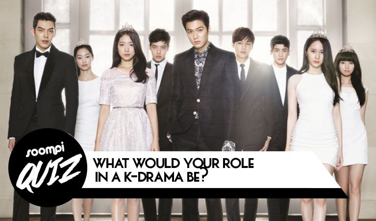 QUIZ: What Would Your Role In A K-Drama Be? via @soompi | K