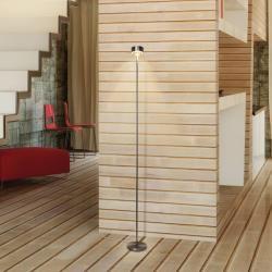 Top Light Puk Eye Floor Stehleuchte, Höhe 132 cm, chrom matt Top LightTop Light