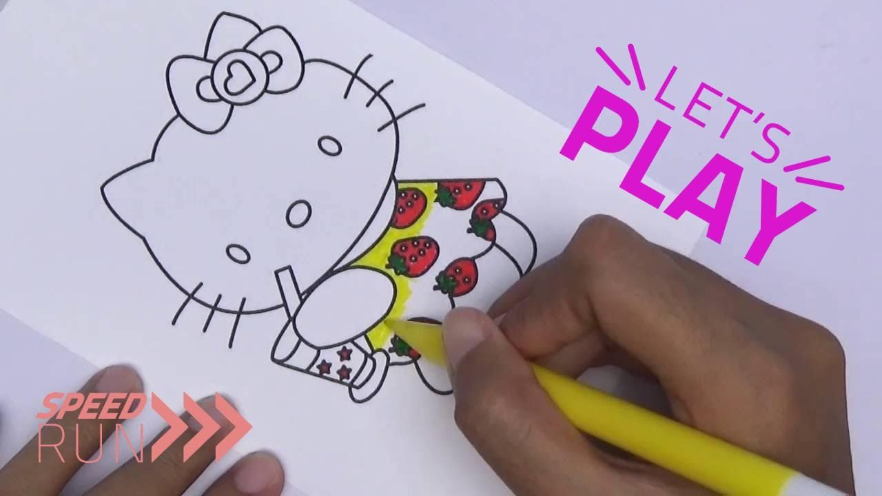 Pi n\' Mo: Coloring Pages For Kids With Hello Kitty Coloring Book ...