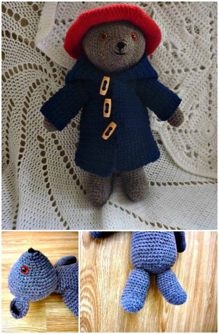 50 Free Crochet Teddy Bear Patterns #crochetteddybears