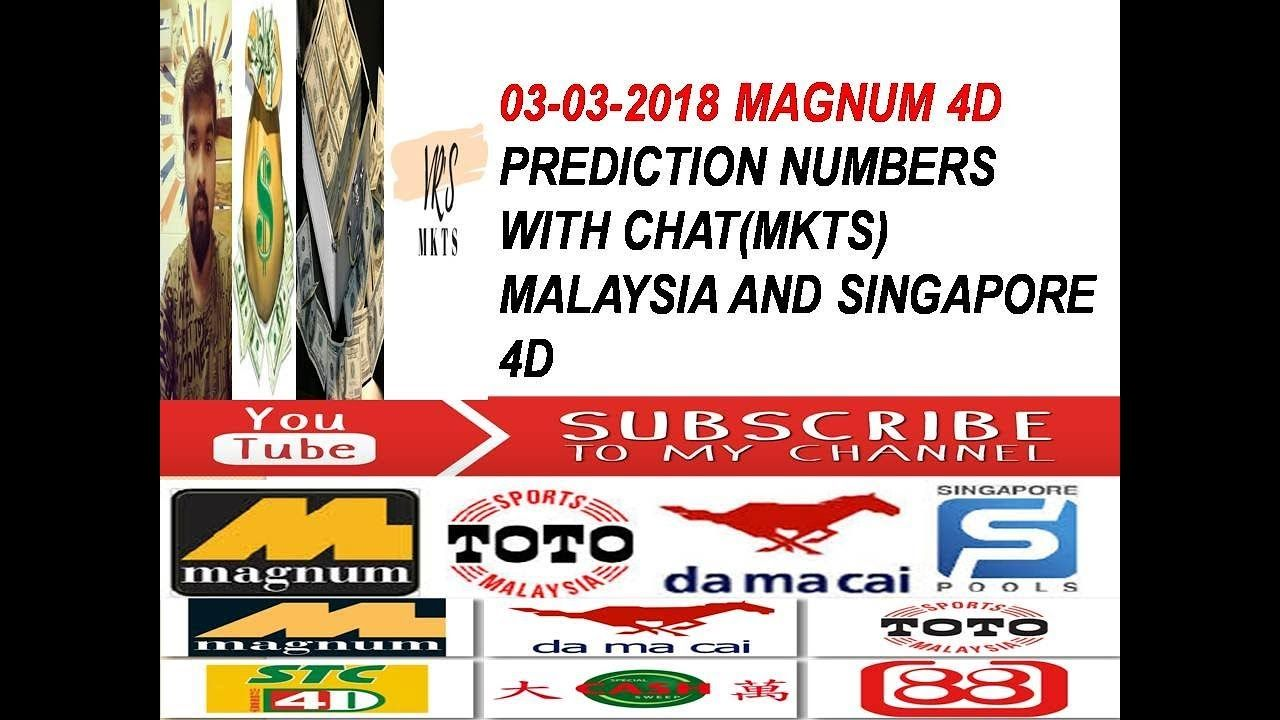 3-03-2018 Magnum 4d prediction(2201) | how to win 4d magnum