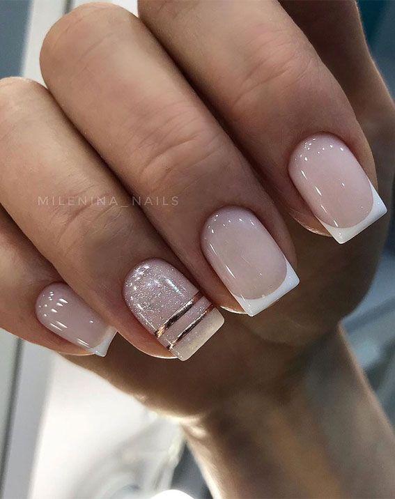 picture Elegant Neutral Nail Designs pin on nail art