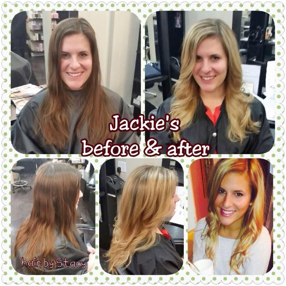 Blonde By Stacy Of The Viselli Salon In Boston Ma Call 857 350 4856 For An Appointment Www Vs Salon Com Before After Hair Hair Makeup Hair