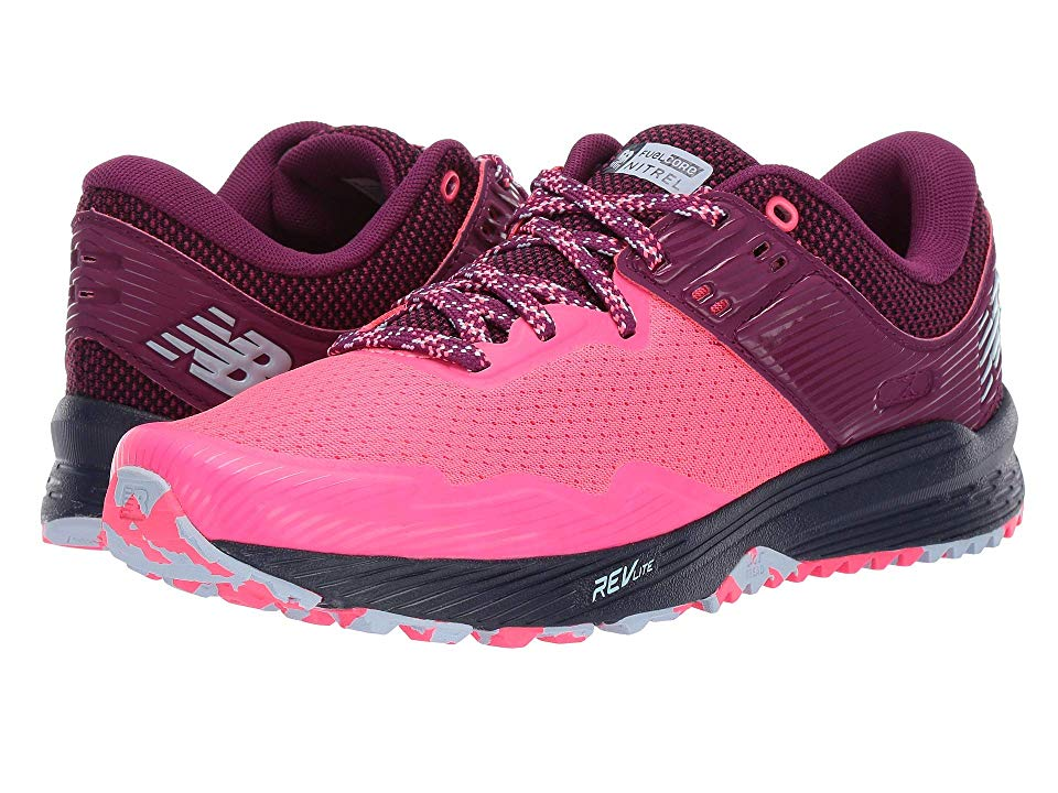 New Balance Nitrel Women's Running Shoes Pink Zing/Claret ...