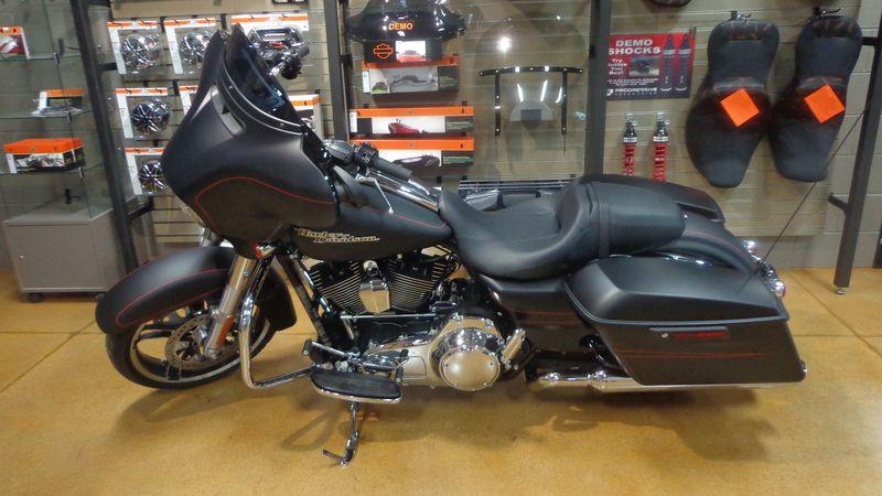 2015 Street Glide Special Black Denim Dekalb Harley