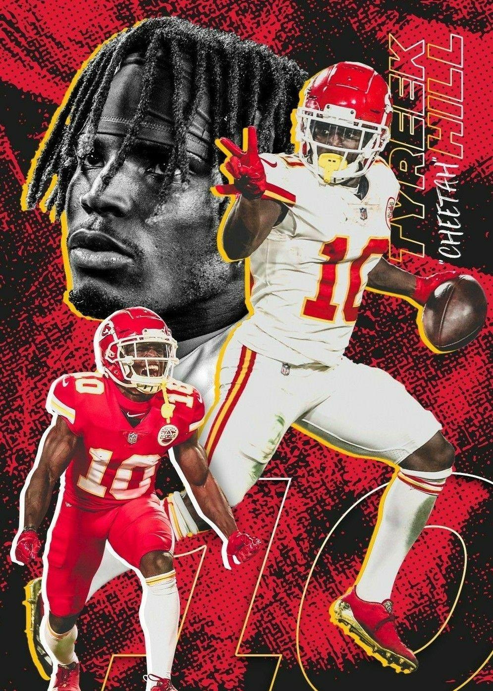 Tyreek Hill Nfl Football Art Nfl Football Wallpaper Kansas City Chiefs Football
