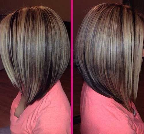 long bob haircuts back view - Google Search | My Style | Pinterest ...