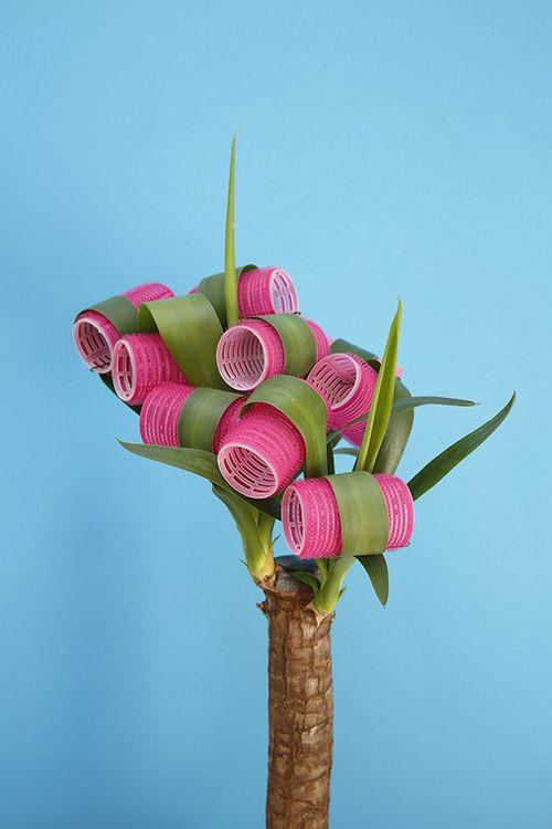Follow Rent a Stylist https://nl.pinterest.com/rentastylist/ art direction | plant curlers