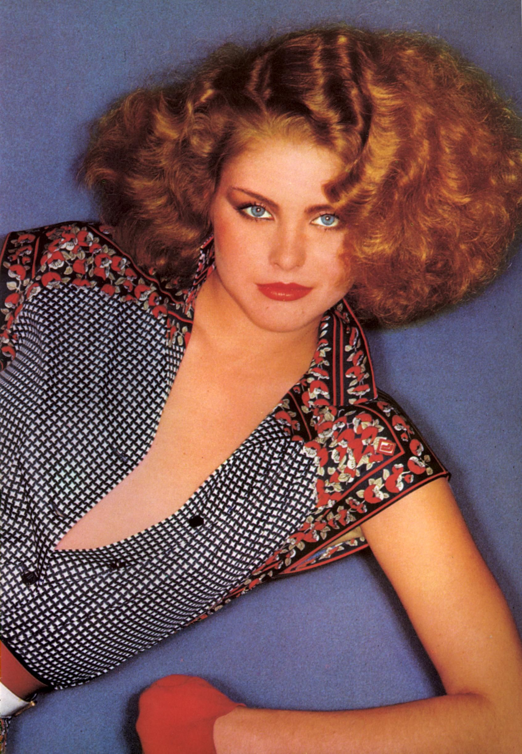 Kim Alexis  -  Vogue Italia 1979