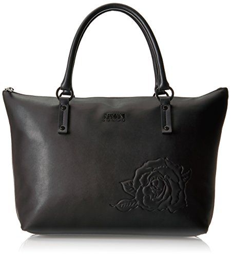 Embossed Floral Tote Bag