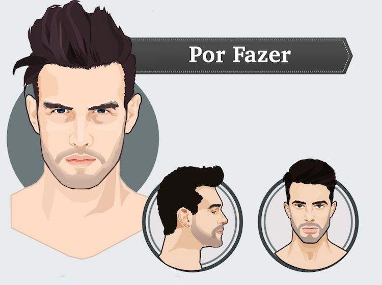 Uma pergunta rápida: quando você vai cortar o cabelo, gosta de pegar referências, pedir opiniões e conversar com o barbeiro sobre o corte escolhido, corret