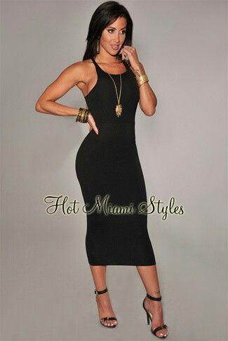1b9d735f2b7b Black long tight sexy dress