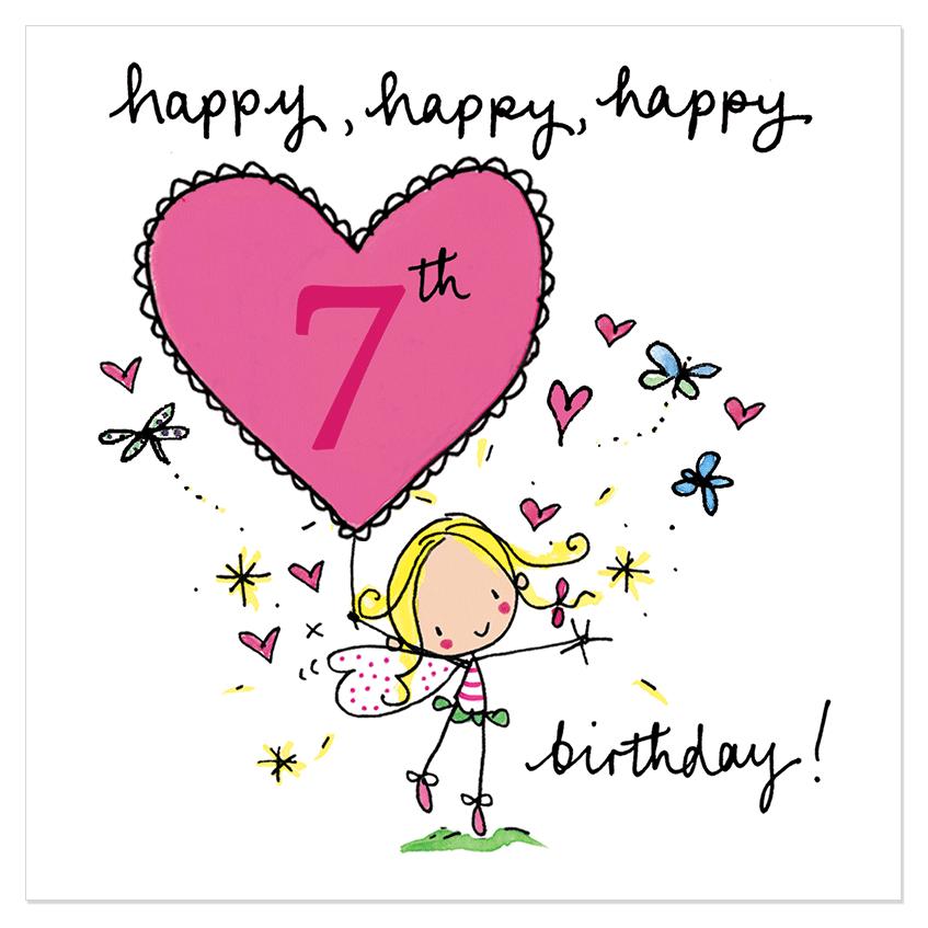 Lines For 7th Birthday Happy Birthday Wishes Pinterest Happy