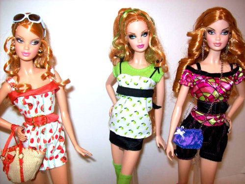 Top Model Summers Barbie Top Barbie Fashion
