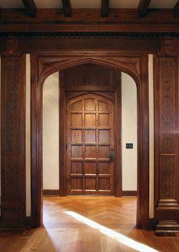 Jacobean Transitional Door   Traditional   Interior Doors   Dallas   Hull  Historical