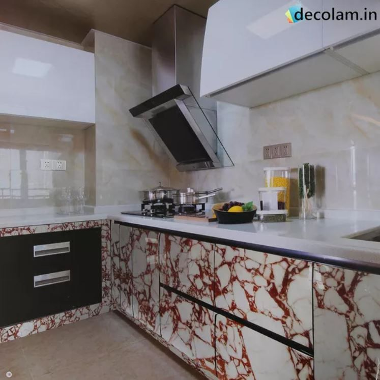 Trendy Kitchen Ideas Trend Smart Acrylic Laminates Available Decolam Rs 2595 Across India Acryliclaminates Kitchen Design Laminate Kitchen Kitchen