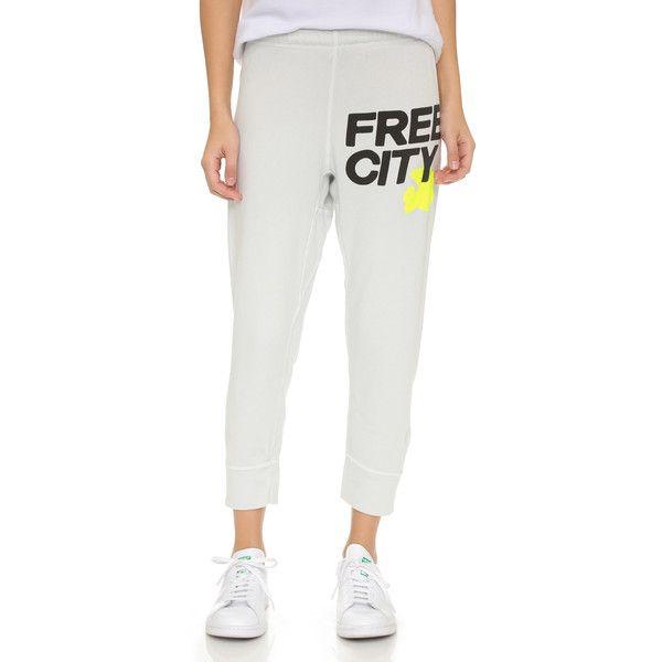 Freecity Swami Featherweight Sweatpants White Sweatpants Sweatpants Active Wear Pants
