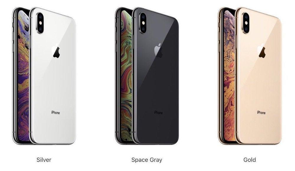 APPLE iPHONE XS MAX UNLOCKED 64GB 256GB 512GB GOLD SILVER