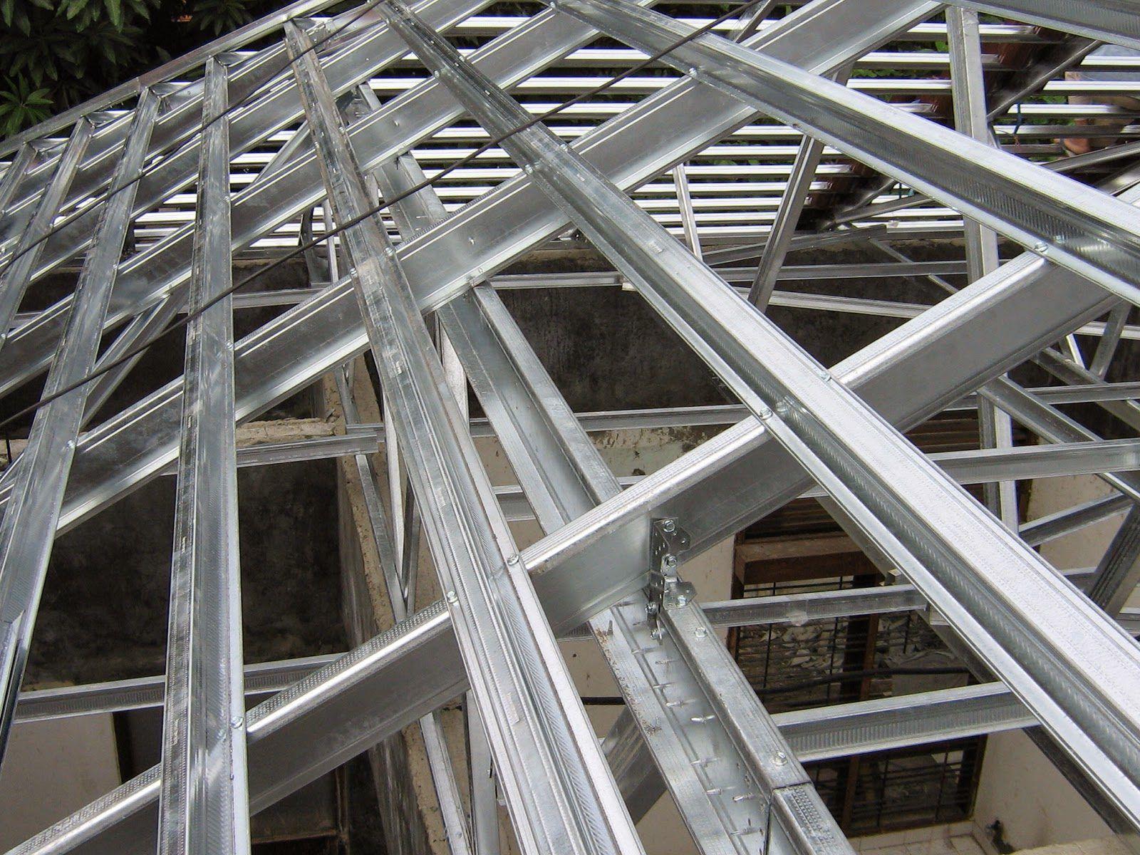 tebal kanal c baja ringan jual hollow galvalum murah surabaya steel