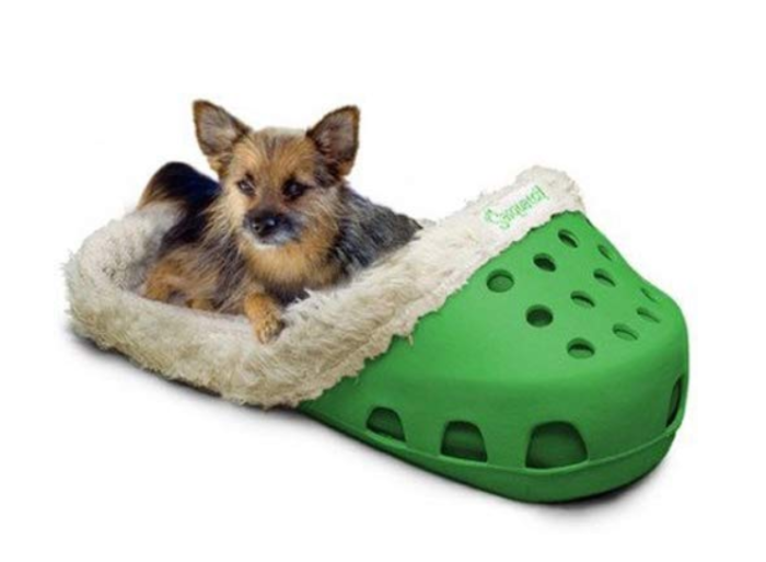 You Can Get A Giant Croc Inspired Bed For Your Dog And My Heart Is Full Dog Beds For Small Dogs Pet Bed Sleeping Dogs