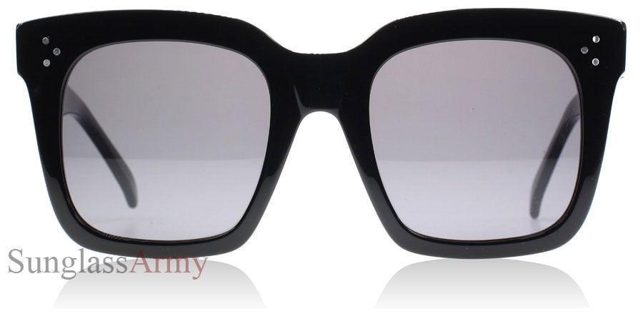 f39c714c492 Tilda Sunglasses Black Womens Square Oversized Designer Fashion Large Big  41076