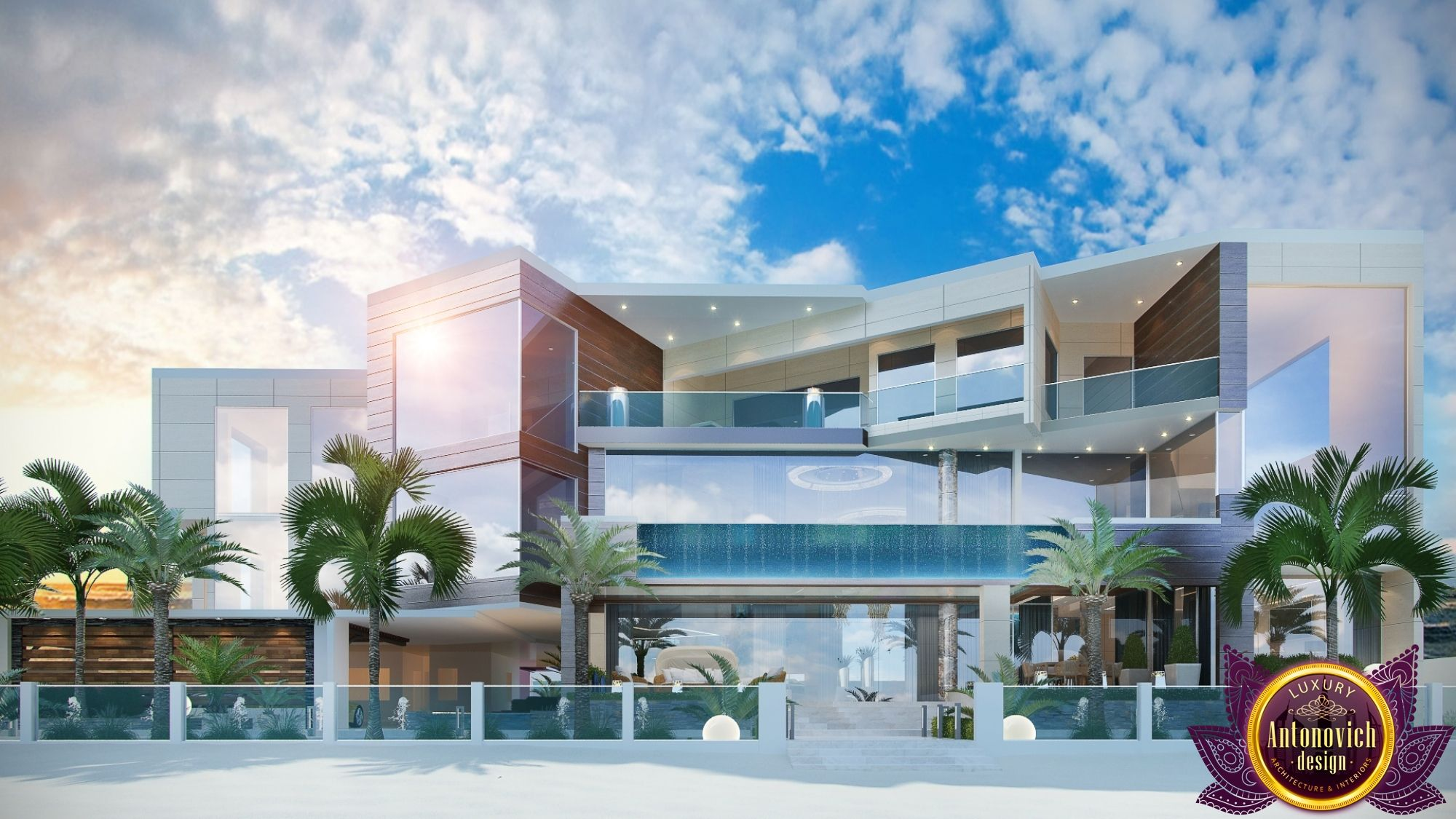 Gallery photo 9 modern exterior exterior design palm jumeirah interior design gallery