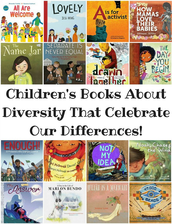 Children's Books About Diversity That Celebrate Our Differences from BookRiot.com | Multicultural Kids' Books, Diverse Children's Books, Picture Books with Diverse Characters | #DiverseBooks #WNDB #Diversity #multiculturaleducation