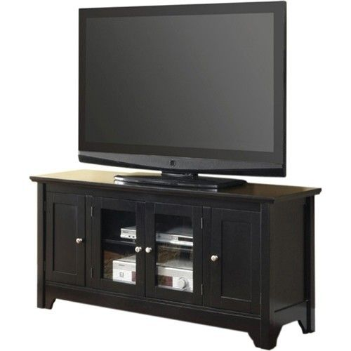 Walker Edison Tv Cabinet For Most Flat Panel Tvs Up To 55