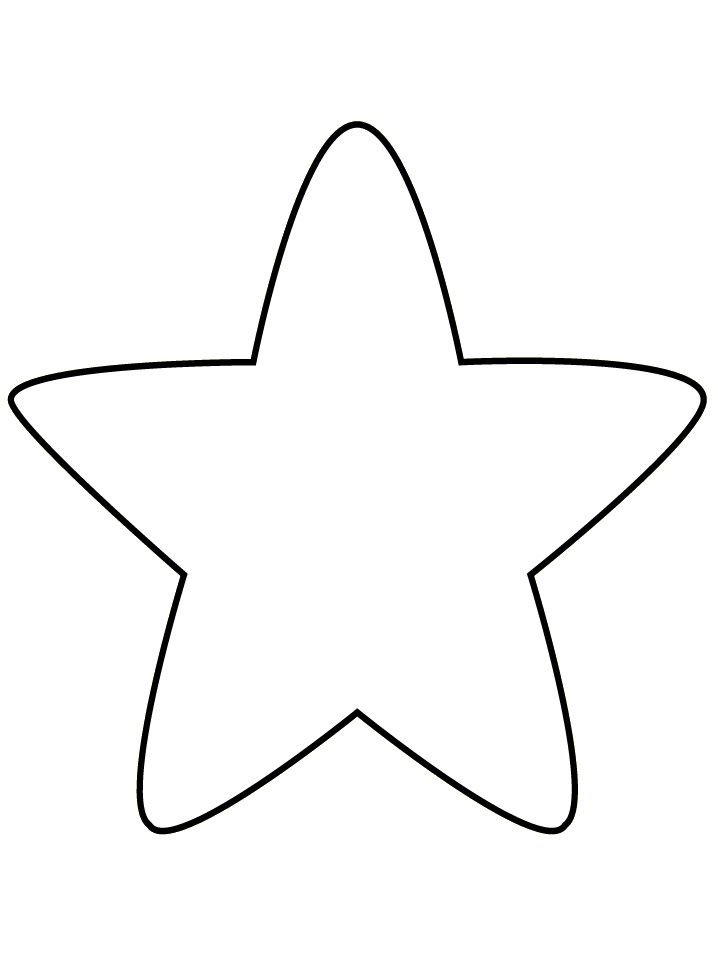 how to draw a star without lines in the middle