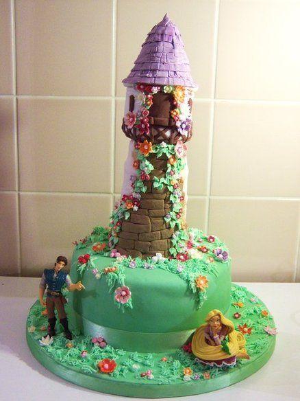 rapuncel cumpleaños torta - Buscar con Google | ideas de cumple ...