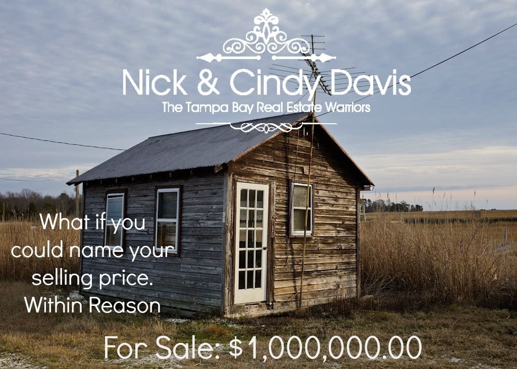 Did you see the Writing on the Wall? What if now you could Name your Selling Price!  Would you consider selling your home at a specific price? Sign up to receive an alert if a buyer is interested. http://nickandcindydavis.nameyoursellingprice.com/name_your_price/index