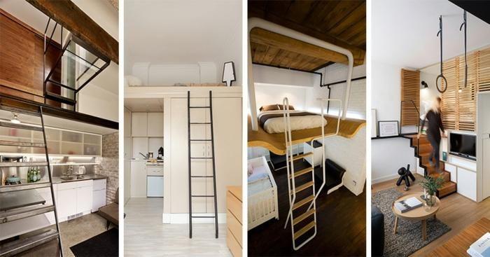 Modernes Design Loft - Neun erstaunliche Modelle Haus - ideen offene kuche wohnzimmer