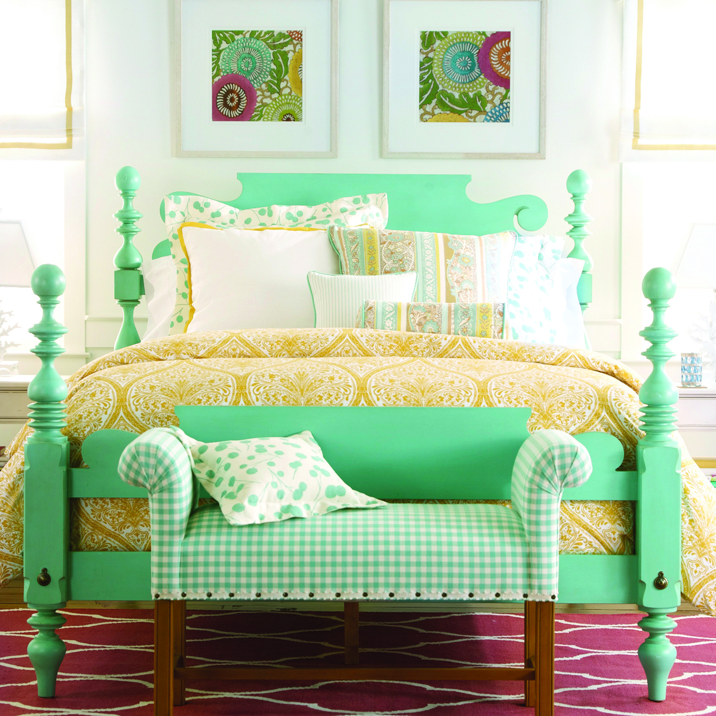 Yellow Bedroom By Ethan Allen Richmond On A Pop Of Color