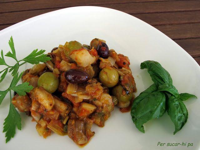 Per sucar-hi pa, gastronomía, recetas, técnicas culinarias y viajes: Caponata