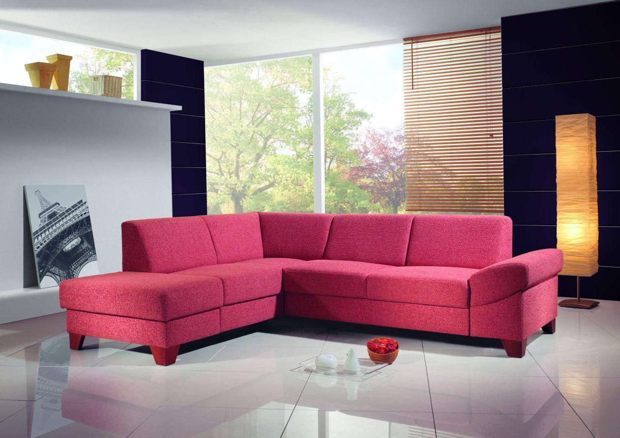 Hot Pink Living Room | Hot Pink Sofa Design | Rooms - Fabulous Hot