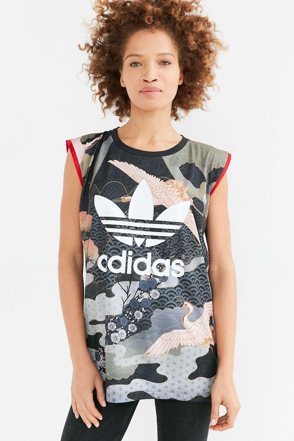 4383538e8dc7b adidas Originals By Rita Ora Kimono Tee