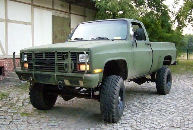 Chevrolet K 30 M1008 Chevrolet Pickup Army Truck Chevy Trucks
