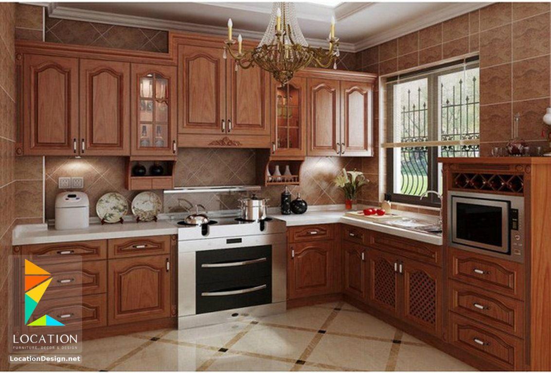 أشكال مطابخ خشبية بتصميمات عصرية دهانات مطابخ خشب 2017 2018 Kitchen Furniture Design Modern Kitchen Furniture Kitchen Room Design