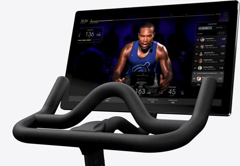 Peloton® | Indoor Exercise Bike with Online Streaming ...