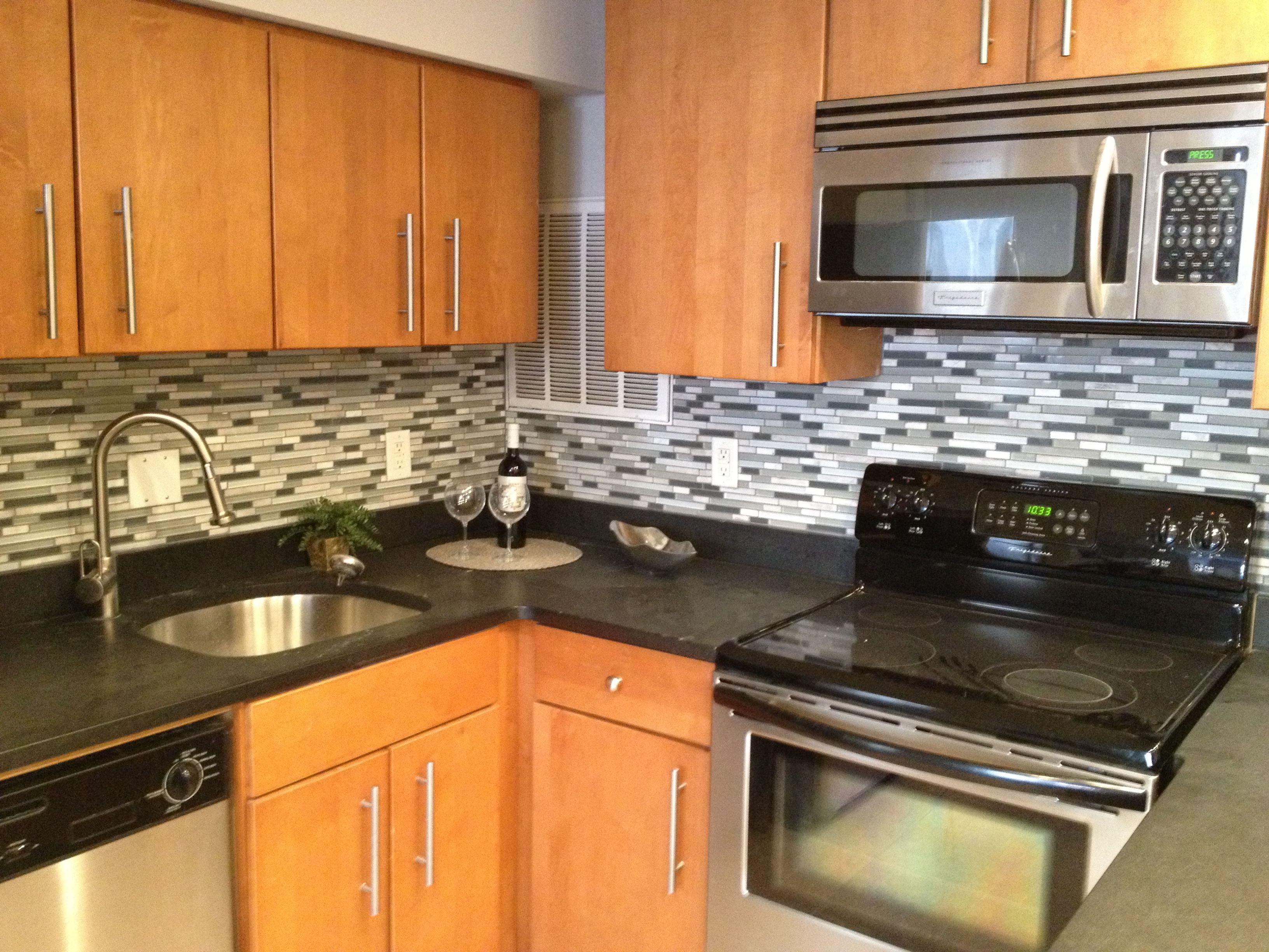 common design of dc condos black granite  maple